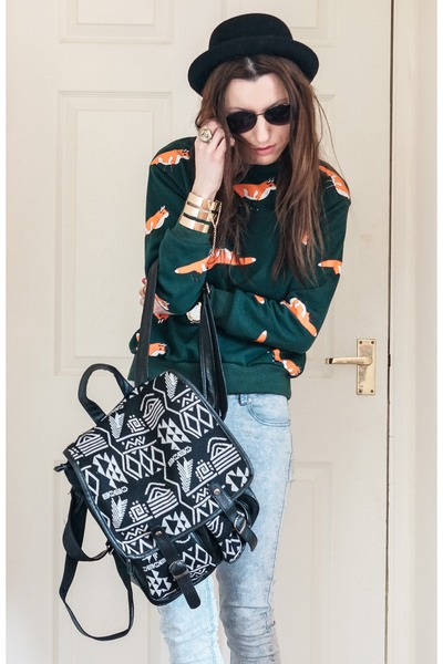 BangGood bag - hm hat - Romwecom sweatshirt