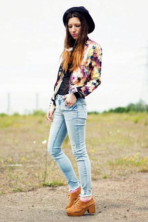 Sheinsidecom jacket - Sammydresscom boots - Romwecom jeans