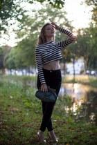Primark shoes - black River Island jeans - H&M top