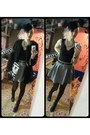 Black-topshop-cardigan-charcoal-gray-h-m-skirt