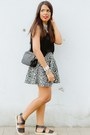 Black-espadrilles-forever-21-shoes-black-aztec-print-zara-skirt