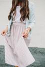 Light-blue-bomber-zara-jacket-light-pink-pleated-zara-skirt