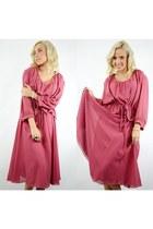 polyester Ahka Vintage dress