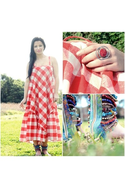 cotton Ahka Vintage dress