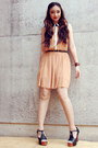 Light-orange-primark-dress