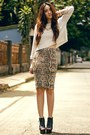 Pencil-skirt-h-m-skirt-cropped-kate-katy-sweater