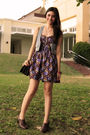 Pink-manila-dress-petit-monde-vest-liz-claiborne-shoes