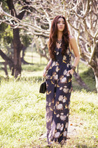 navy jumpsuit inlovewithfashion pants