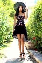 black pull&bear shirt - black Zara skirt