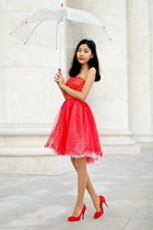 red DresseStylist dress