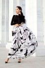 White-chicwish-skirt