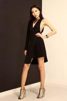 black Revolve dress