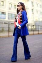 navy Glamorous jeans - dark brown Pacific Rim Eyewear sunglasses