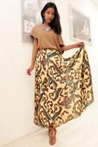 eggshell skirt