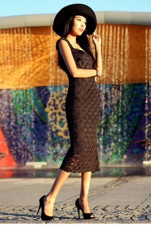 black Chicwish accessories - dark gray ami clubwear dress