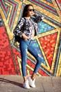 Violet-sheinside-jeans-blue-sheinside-jacket-black-chicnova-bag
