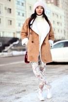 tan romwe coat