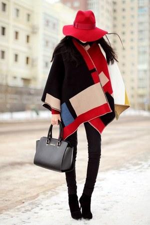 ruby red Sheinside cape