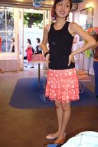 Petit Bateau shirt - Stella Cadente skirt - Repetto shoes