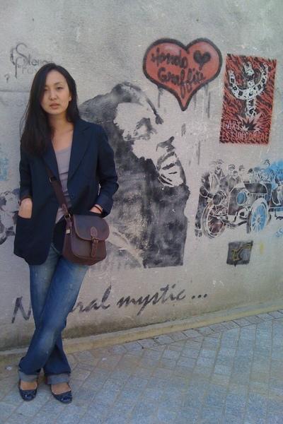 Paul and Joe jacket - Miss Sixty jeans - vintage accessories - Primark shoes - P