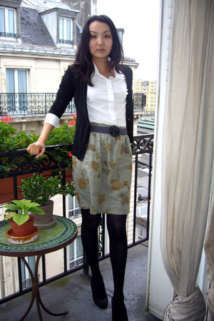 Muji jacket - Esprit shirt - H&M belt - vintage shoes