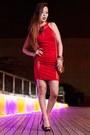 Red-bodycon-charlotte-russe-dress-gold-clutch-shoproxx-bag