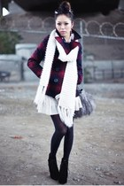 Girl in Winter White & LITA CLAW