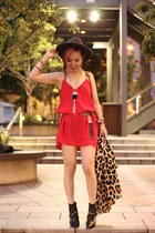 Red Night Slip Dress