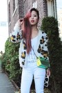 White-ripped-topshop-jeans-chartreuse-hologram-nasty-gal-bag