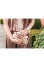 Light-pink-sequin-tobi-dress-beige-clutch-pink-basis-bag