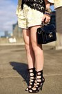 Light-yellow-aritzia-blazer-light-yellow-aritzia-shorts