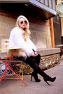 Black-over-the-knee-justfab-boots-light-pink-faux-fur-zara-coat