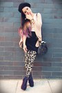 Dark-brown-fringed-forever-21-bag-dark-khaki-pitaya-leggings