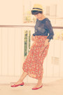 Japanese-stall-hat-leathershiny-nose-shoes-vicnity-dress