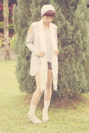 knitted beanie DIY beanie hat - Japan Stall scarf
