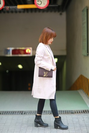 coat - ankle boots boots - shirt