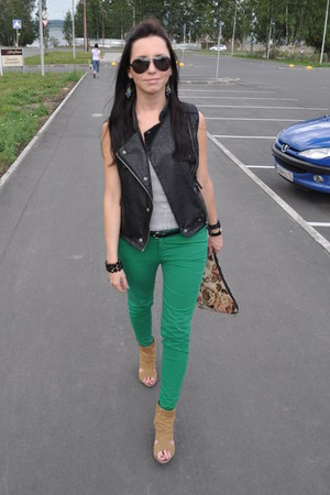 Zara pants - Terranova blazer - Topshop vest