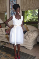 Ajepomaa Gallery dress - white Ajepomaa Gallery dress