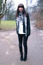 Topshop pants - H&M blazer - H&M shirt - vintage accessories - Zara shirt