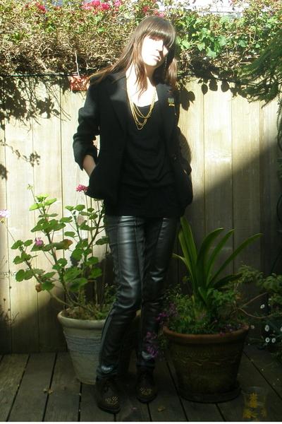 Prada blazer - thrift town shoes - aa top