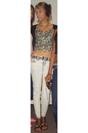 green DIY top