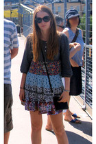 Zara dress - Monki bag - vintage from Ebay necklace - gina trocot sunglasses - v