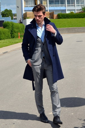 H&M suit - brogue shoes - c&a shirt