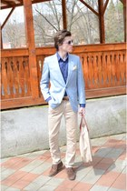 Lee Cooper jeans - Arcer blazer - H&M shirt - deluxe bag - Retro sunglasses