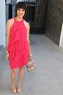 Bcbg-dress-furla-purse-christian-louboutin-shoes