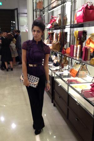 Miss Sixty blouse - Dolce & Gabbana pants