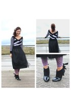 Vero Moda skirt - vintage boots - Billabong jumper