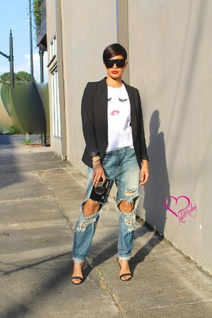 Alex Malay jeans - Alex Malay blazer - Alex Malay shirt