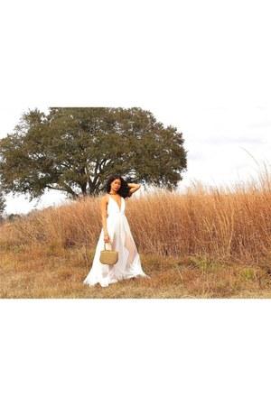 white dress - white dress