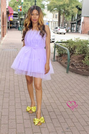 purple Alex Malay dress - violet Alex Malay dress